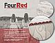 Матрац ортопедичний Four Red Rubin/Матрас ортопедический Рубин, фото 8