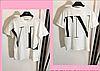 Женская футболка с надписью бренд, с 48- 98 размер