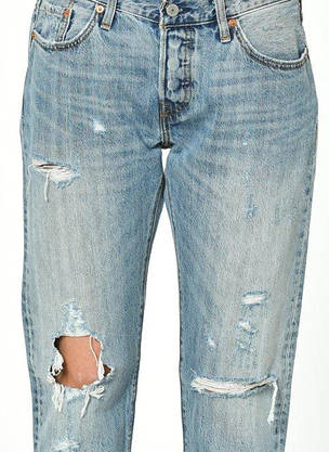 Джинсы женские Levi's 501CT W26 L36 /Tapered Leg/Button-Fly/Оригинал, фото 2