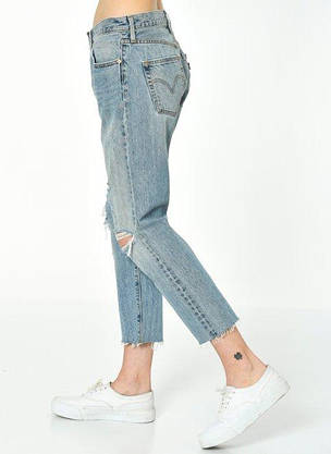 Джинсы женские Levi's 501CT W26 L36 /Tapered Leg/Button-Fly/Оригинал, фото 3