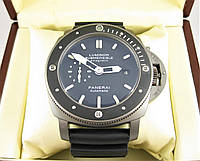 Часы PANERAI LUMINOR SUBMERSIBLE 1950 BMG-TECH™ 3 DAYS AUTOMATIC TITANIUM - 47 mm. Replica: Elite.