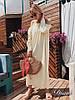 Женское длинное платье «Фисташка» с декором в расцветках. ЕД-1-0319, фото 6