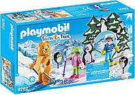 Игровой набор ПлейМобил Урок катания на лыжах PLAYMOBIL® Ski Lesson Building Set, фото 1