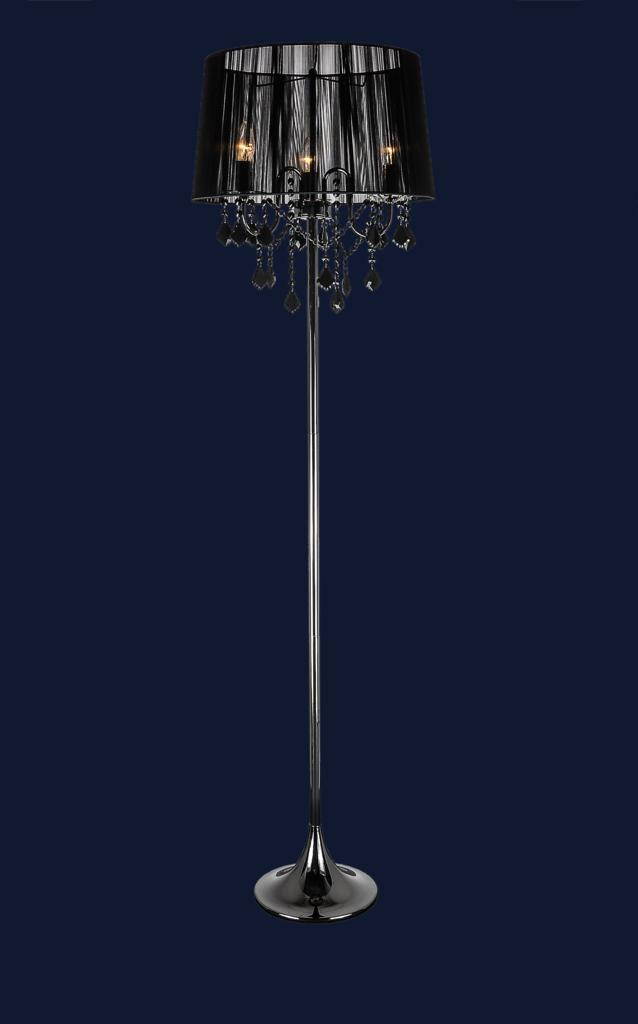 Торшер в стиле модерн Levistella 7207003BK-3BK BLACK