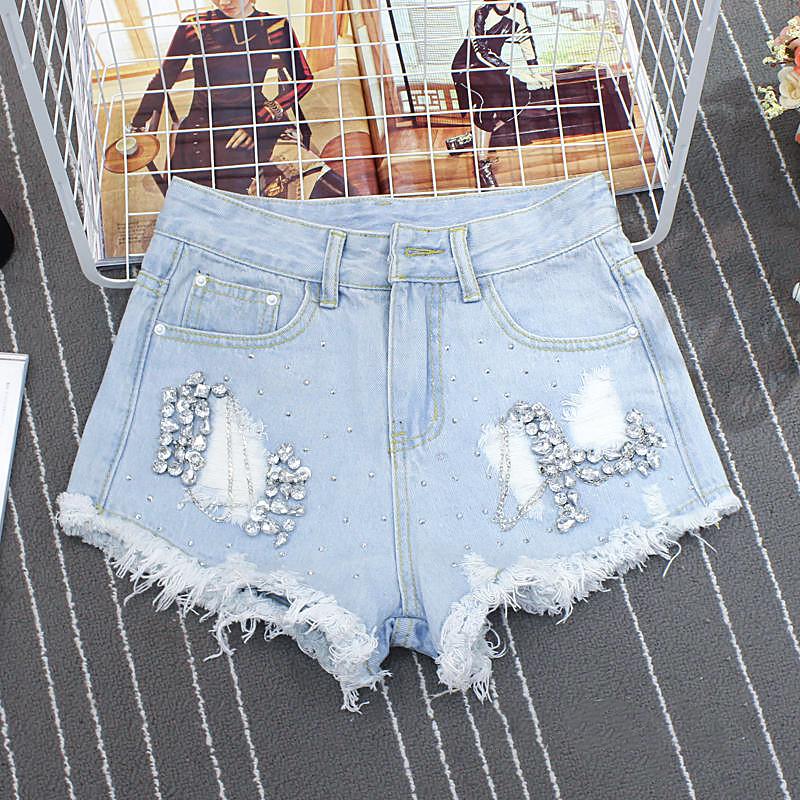 Стильные женские джинсовые шорты (42-48)