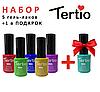 Набор 5 гель-лаков Tertio + 1 в подарок