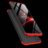 Чехол GKK для Huawei Honor 10 Lite защита 360 градусов (2 Цвета)