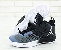 Баскетбольные кроссовки Jordan Super Fly 5 (Найк Аир Джордан 5) черные