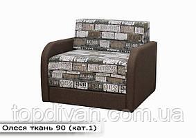 """Дитячий диван """"Олеся"""" (тканина 90) Габарити: 1,07 х 0,95 Спальне місце: 1,80 х 0,90"""