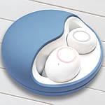 Беспроводные наушники блютуз наушники bluetooth гарнитура 5.0 Wi-pods K10 наушники с микрофоном Оригинал синие, фото 3