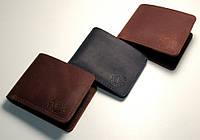 ✅ Мужской кожаный кошелек, зажим для денег Ручная работа! Натуральная кожа! чоловічий гаманець шкіряний