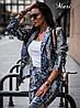 Костюм пиджак и брючки, мягкая эко кожа. Размер: 42-44 . Цвета разные (6202), фото 3