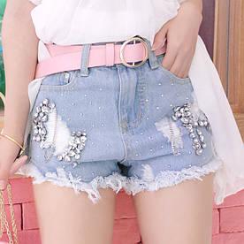 Стильные женские джинсовые шорты (42-46)