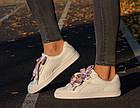 Оригинальные женские кроссовки Puma Basket Heart Geo 37-40р. 365673-01, фото 2