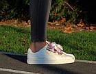 Оригинальные женские кроссовки Puma Basket Heart Geo 37-40р. 365673-01, фото 3