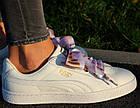 Оригинальные женские кроссовки Puma Basket Heart Geo 37-40р. 365673-01, фото 4