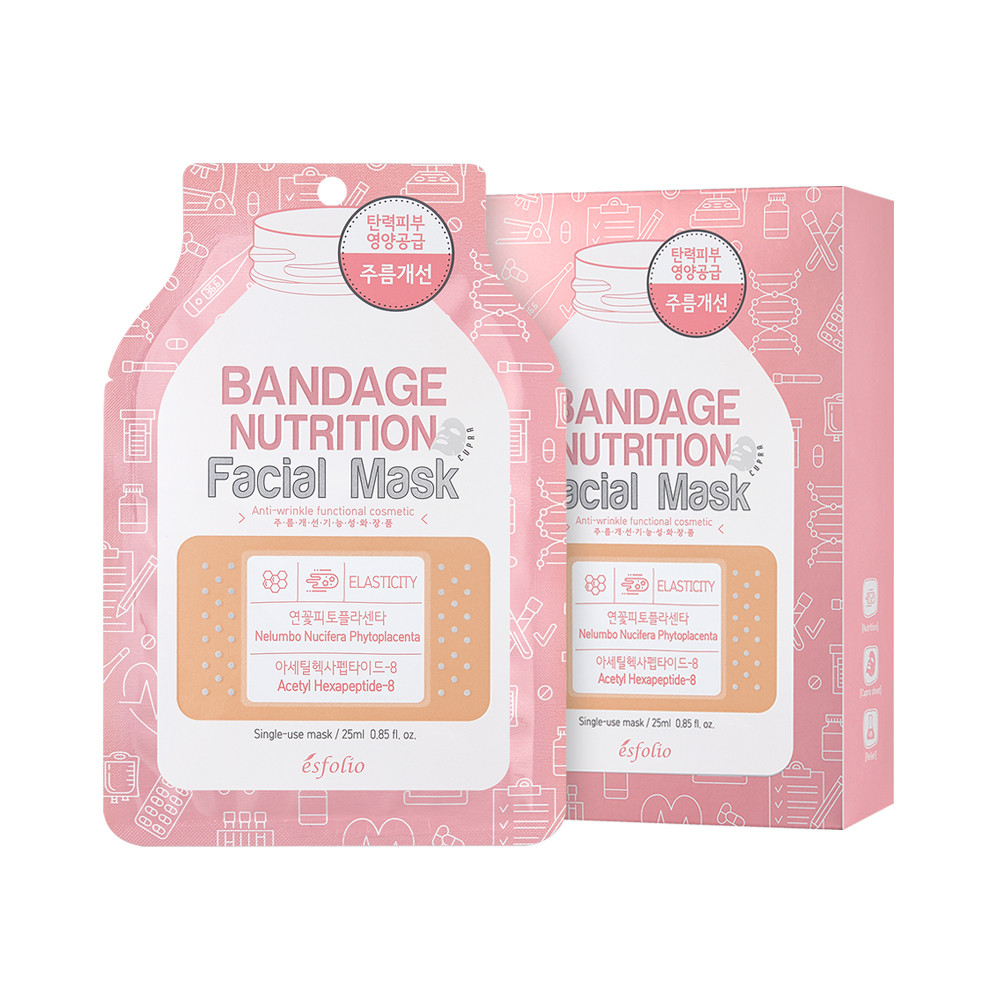 Маска для обличчя живильна 25мл Esfolio Bandage