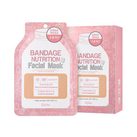 Маска для обличчя живильна 25мл Esfolio Bandage, фото 2