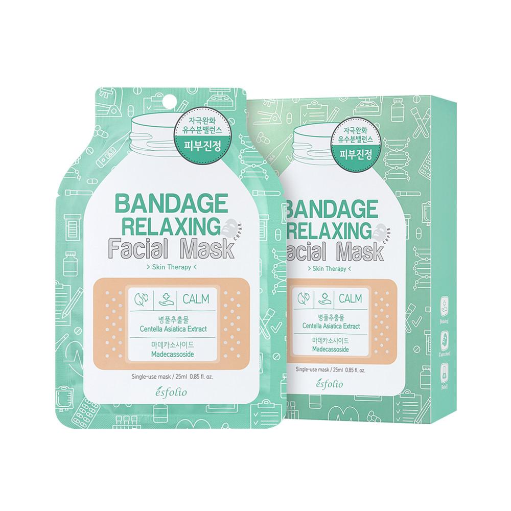 Маска для обличчя заспокійлива 25мл Esfolio Bandage
