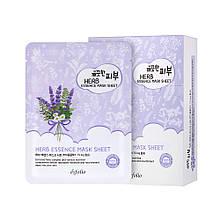 Маска тканинна для обличчя з травами 25мл Esfolio Pure Skin