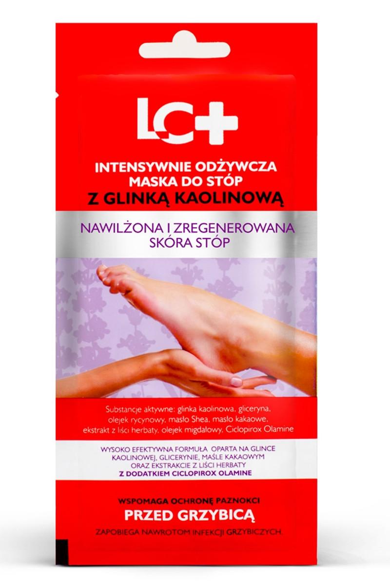 LC + Маска для ніг поживна з каоліновою глиною 35 мл