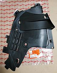 Защита бампера правая Dacia Logan фаза 2 (Asam 30261)(среднее качество)