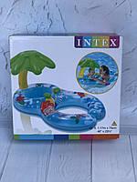 Надувной круг для малыша и мамы Intex артикул 56590