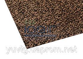 Придверный коврик Париж коричневый 60х40 см. без канта