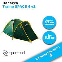 Палатка Tramp SPACE 4 v2, фото 1