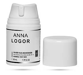 Крем зволожуючий з колоїдним сріблом Anna Logor Silver Plus Moisturizer 50 мл Art.323