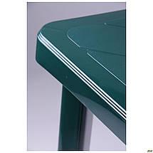 "Стол разборной Nettuno 80х80 пластик зеленый 15 TM ""AMF"", фото 3"