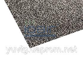 Коврик для прихожей на резиновой основе Париж серый 60х40 см