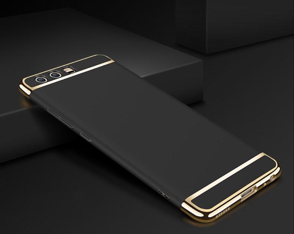 Чехол с золотыми вставками для Huawei P10 (2 Цвета)