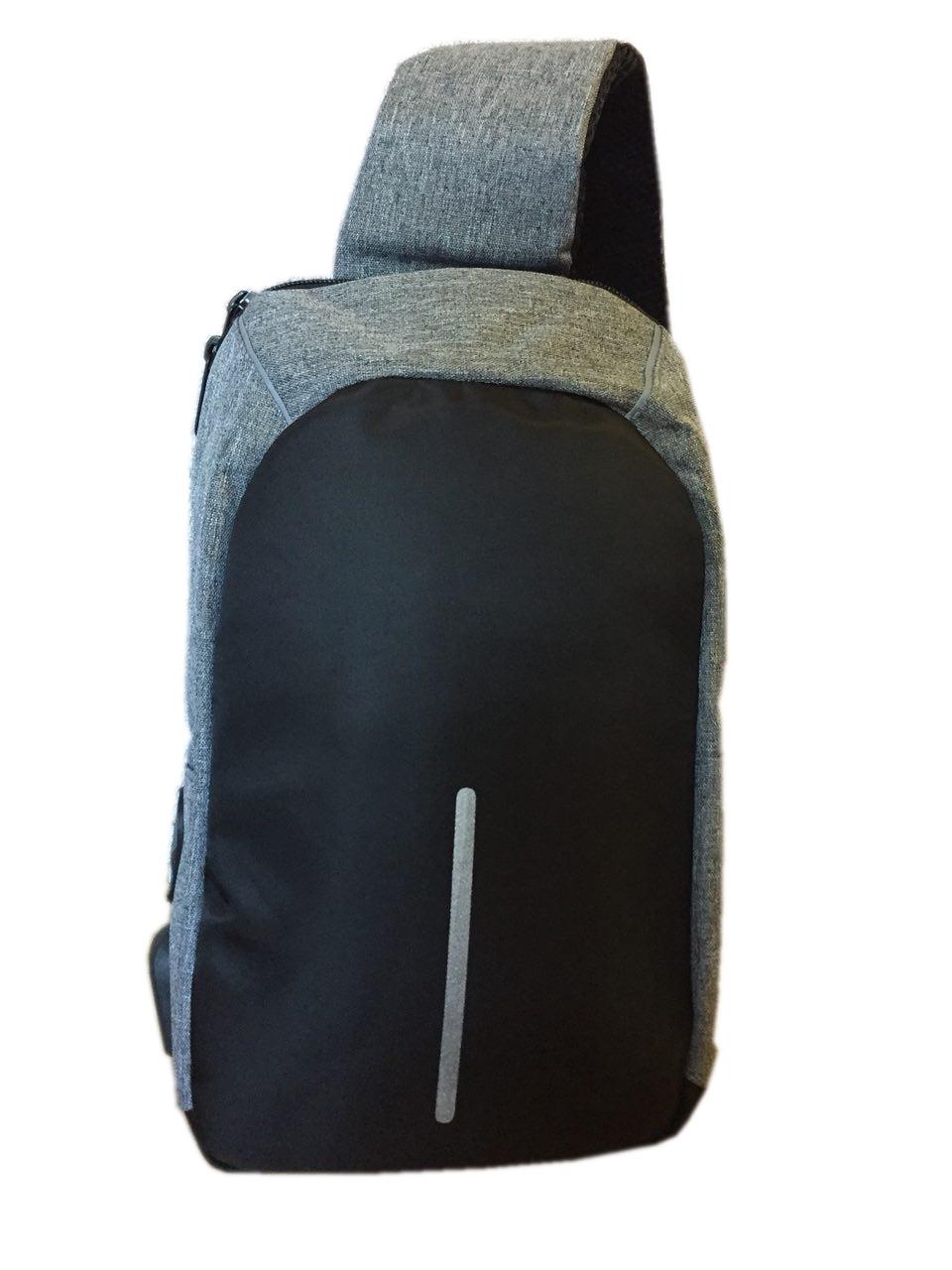 Городская сумка Bobby Mini с защитой от карманников, цвет СЕРЫЙ