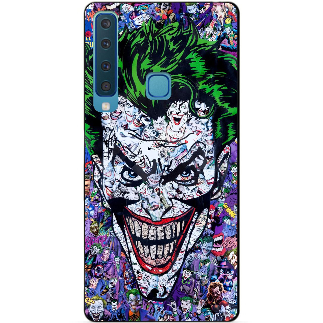 Чехол силиконовый для Samsung A9 2018 Galaxy A920 с рисунком Джокер