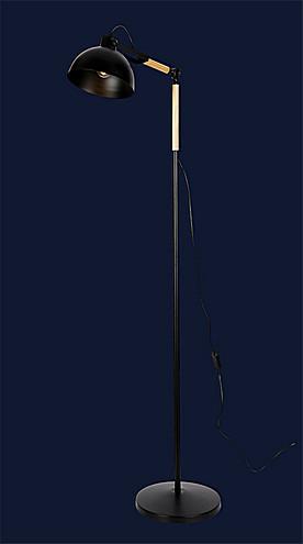 Торшер в стиле лофт Levistella 756PR5525-1 BK