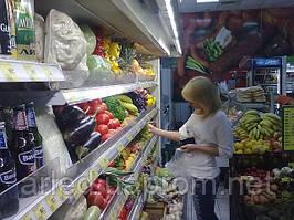 """Освещение торговых витрин ТС """"Обжора"""" г.Донецк"""