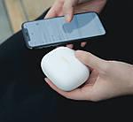 Наушники беспроводные блютуз гарнитура с повербанком 2200 мА*ч. Wi-pods MOSUM. Бежевые, фото 5