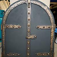 "Дверца под коптилку арка метал ""3"" мм 600х500"