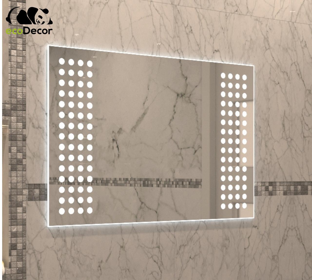 Зеркало с LED подсветкой Orleans в ванную