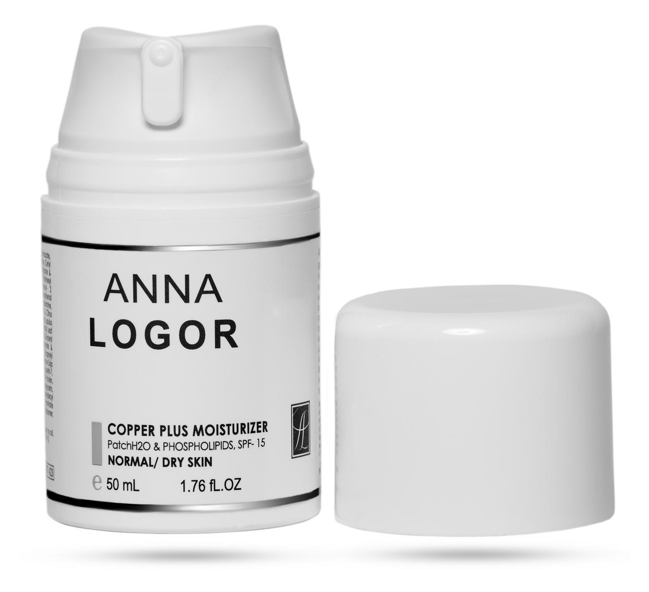 Анти–оксидантний, зволожуючий крем Анна Логор / Anna Logor Copper Plus Moisturizer 50 мл Код 423