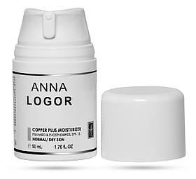 Крем анти-оксидантный увлажняющий Anna LOGOR Copper Plus Moisturizer 50 ml Art.423