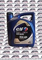 Масло Моторное ELF Evolution 900 SXR 5w-40 4l