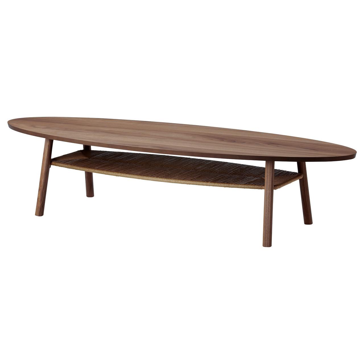 Журнальний стіл IKEA STOCKHOLM шпон горіха 702.397.10