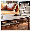 Журнальний стіл IKEA STOCKHOLM шпон горіха 702.397.10, фото 5