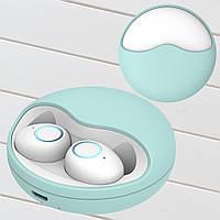 Беспроводные наушники блютуз гарнитура Wi-pods K10 наушники bluetooth 5.0 Оригинал мята