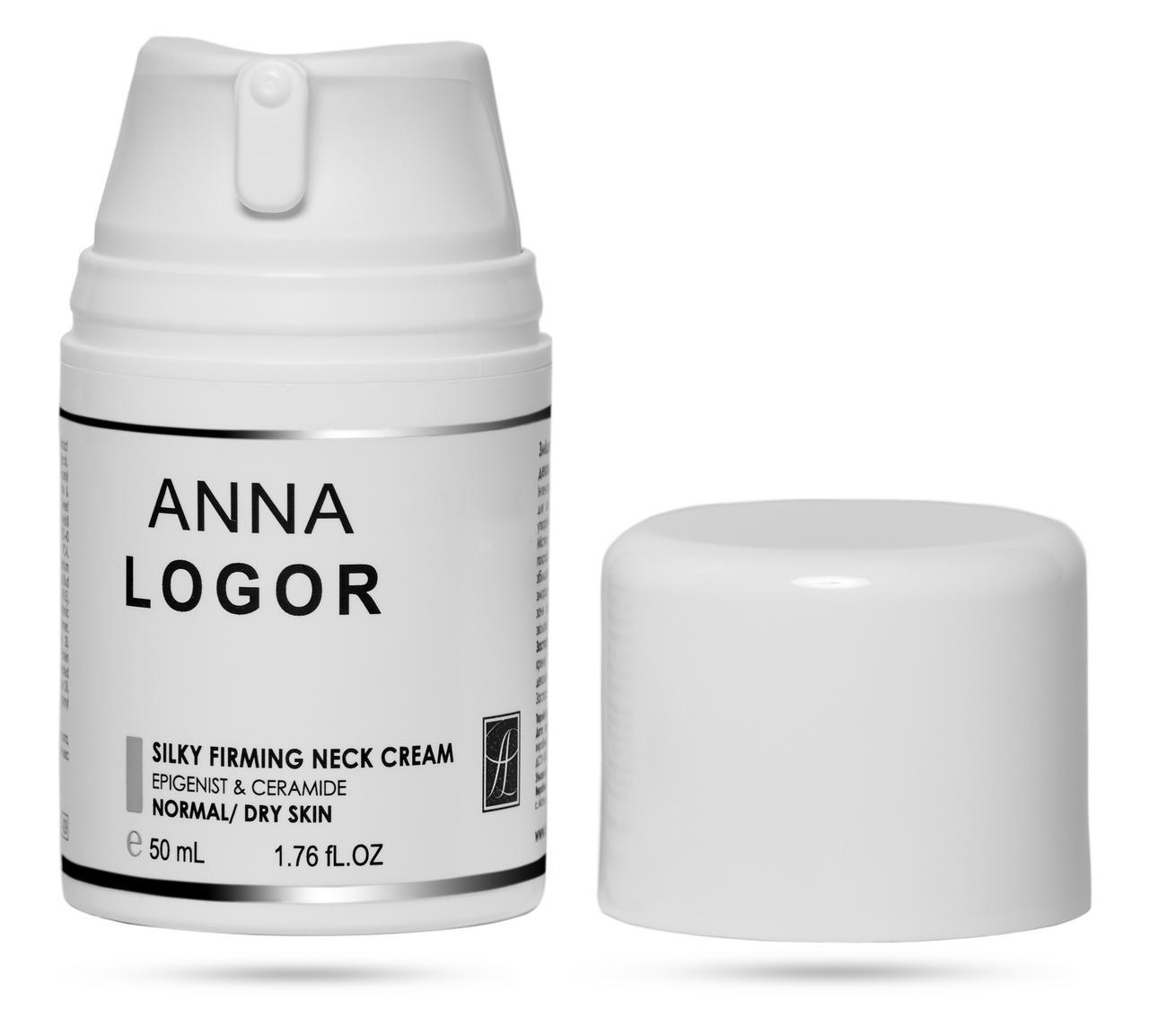 Зміцнюючий крем для шиї та декольте Анна Логор / Anna Logor Silky Firming Neck Cream 50 мл Код 429