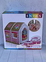 Надувной игровой домик Intex Домик принцессы Princess Play House артикул 48635