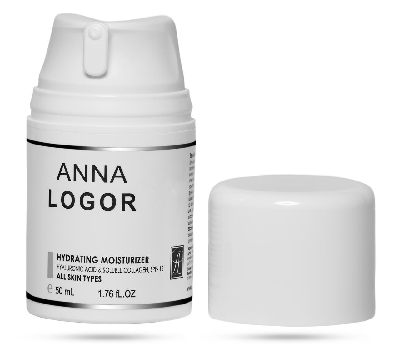 Крем увлажняющий для всех типов кожи Anna LOGOR Hydrating Moisturizer 50 ml Art.621