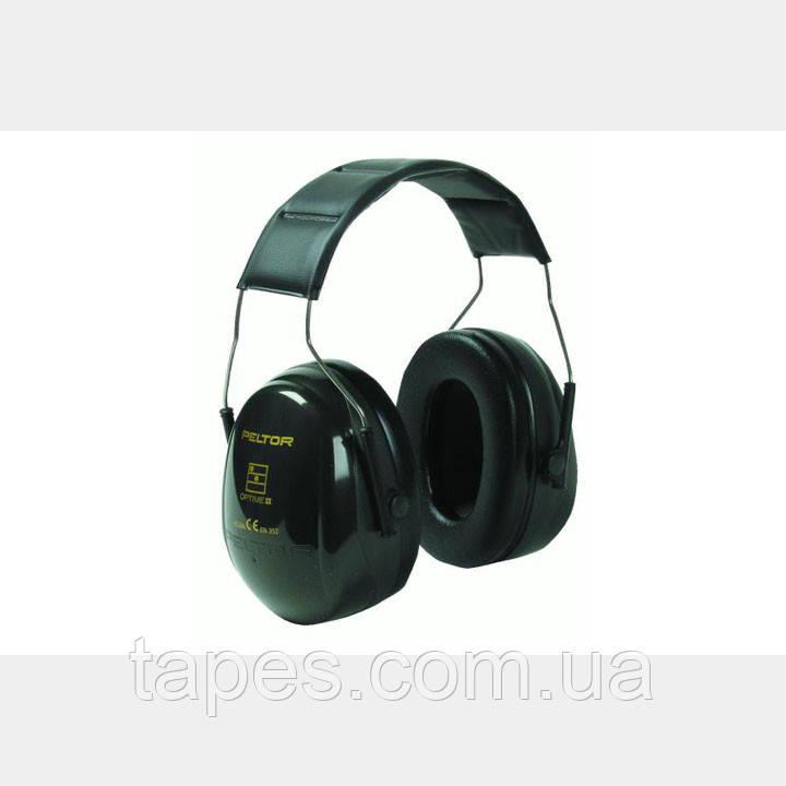 3M™ PELTOR™ Optime™ II H520A-407-GQ  Противошумовые наушники. Стандартное оголовье.